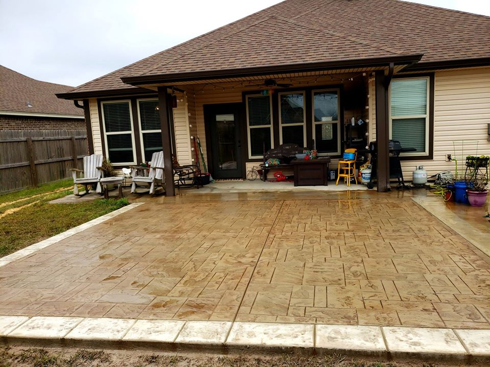 stamped concrete driveway milwaukee wi